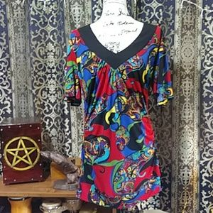 Bisou Bisou Colorful Gypsy Tunic!  ⭐⭐⭐